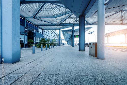 Airport Terminal Canvas Print