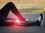 Fototapety Knee injury