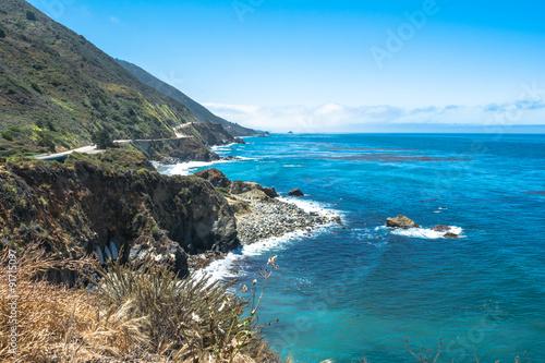Foto op Plexiglas Landschappen Big Sur coast, California