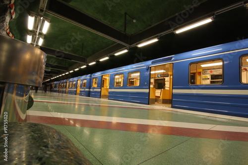 metro estocolmo Poster