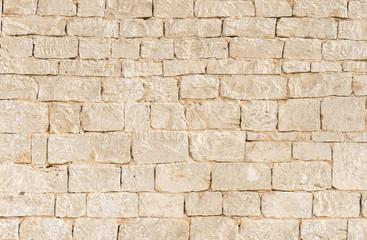 Steinmauer Alt Hell Beige