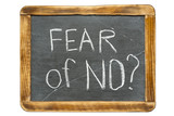 fear of NO