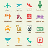 Fototapety airport elements