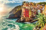 Riomaggiore, Cinque Terre, Italy - 91841634