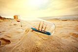 Fototapety Ship in the bottle