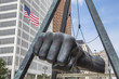Joe Louis Fist in Detroit