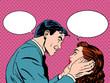 Couple love dialogue
