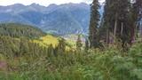Bergpanorama, Serfaus - Austria