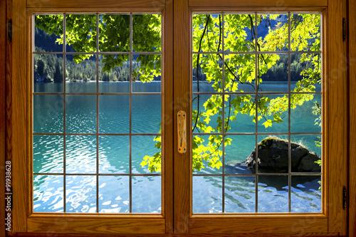 Fototapeta Vista sul lago