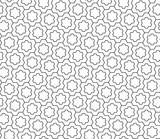 Vector modern seamless geometry pattern snowflake, black and white abstract geometric background, trendy print, monochrome retro texture, hipster fashion design