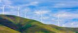 Windfarm on a bright sunny day - 91963656