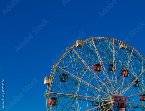 Wonder Wheel in Coney Island