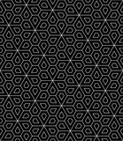 Vector modern seamless geometry pattern flower, black and white abstract geometric background, wallpaper print, monochrome retro texture, hipster fashion design