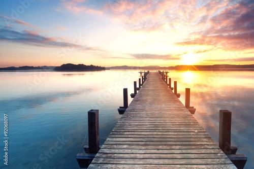 Fototapeta Entspannung am See