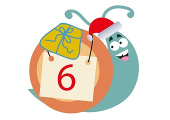 ślimak, Boże Narodzenie, Mikołajki