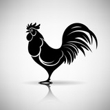 Stylized Rooster - 92079261