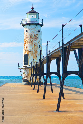 Lake Michigan Lighthouse - 92101006