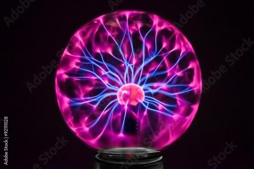 Plasma globe 3 © dvalkyrie