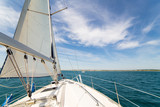 Yatch sail and desk - 92187072