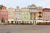 renaissance houses , Poznan, Poland