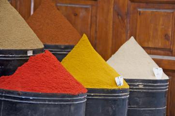marchand d'épices - Marrakech - Maroc