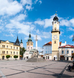 View from SNP Square - Banska Bystrica, Slovakia