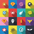superhero badge logo