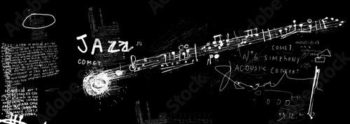 Papiers peints Graffiti Комета джаз