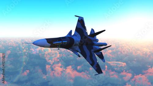 The Russian warplane