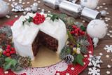 Fototapety Traditional Christmas Cake
