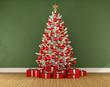 Obrazy na płótnie, fototapety, zdjęcia, fotoobrazy drukowane : Christmas room