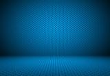 Fototapety Smooth Dark blue with Black vignette and Black Polka dot.