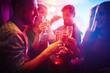 Obrazy na płótnie, fototapety, zdjęcia, fotoobrazy drukowane : Toasting at party