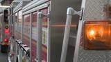 Lights on fire engine