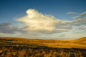 Cloud in the Steppe