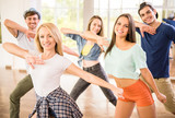 Fototapety Dancing people