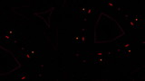 Video Background 1452: High energy techno trance forms mesmerize (Loop). poster