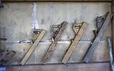 Joinery tools Carpenter in Peasant Museum poster