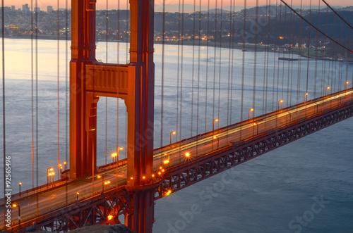 Plakát, Obraz Silnice přes zátoku San Francisco