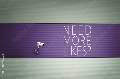 Need More Likes? Poster