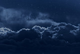 Cloudy night sky - Fine Art prints