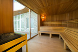 Sauna interior