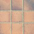 Vintage brown earthenware floor tile seamless background and texture