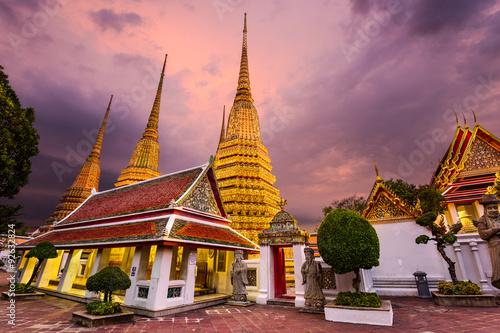 Wat Pho in Bangkok Poster