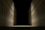 School Locker Corridor - 92646862