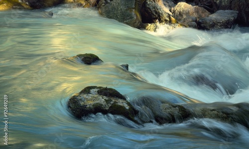 Fototapeta Mountains stream