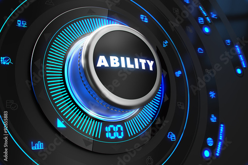 Ability Controller on Black Control Console.