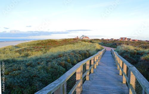 Deurstickers Noordzee Promenade auf Juist