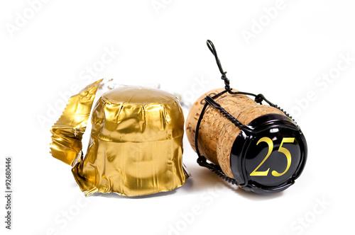 Sektkorken, Sekt, Jubiläum, Champagner, Geburtstag, Hochzeit Poster