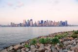 New York City river shore